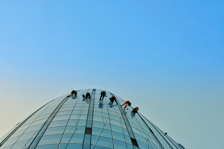 Bered dig med vinduespudserudstyr